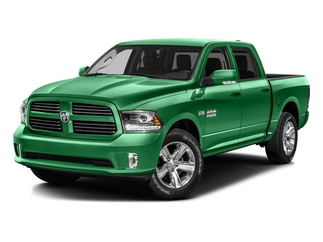 Bright Green 2016 Ram Truck 1500 Pictures 1500 Crew Cab Outdoorsman 4WD photos front view