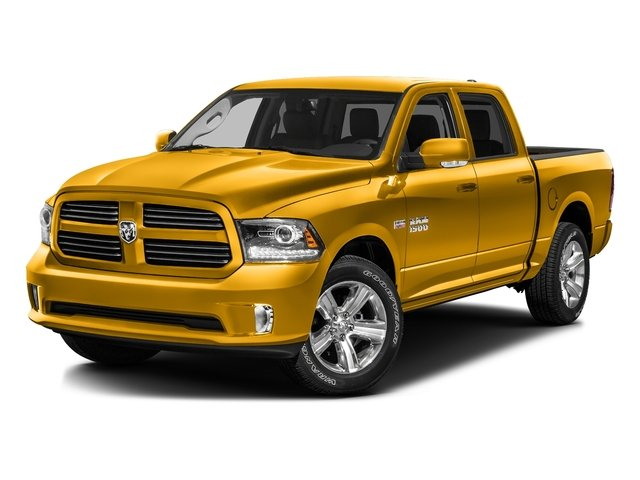 Construction Yellow 2016 Ram Truck 1500 Pictures 1500 Crew Cab Express 2WD photos front view