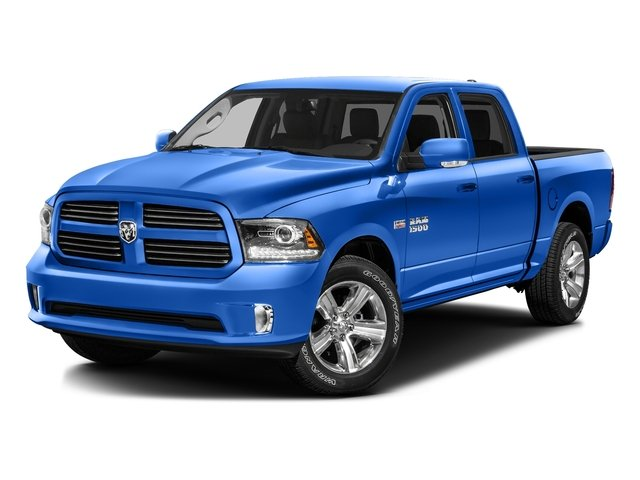 Holland Blue 2016 Ram Truck 1500 Pictures 1500 Crew Cab Express 2WD photos front view