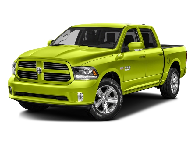 National Safety Yellow 2016 Ram Truck 1500 Pictures 1500 Crew Cab Outdoorsman 4WD photos front view