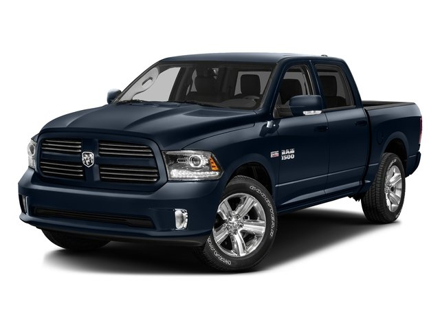 True Blue Pearlcoat 2016 Ram Truck 1500 Pictures 1500 Crew Cab Sport 2WD photos front view