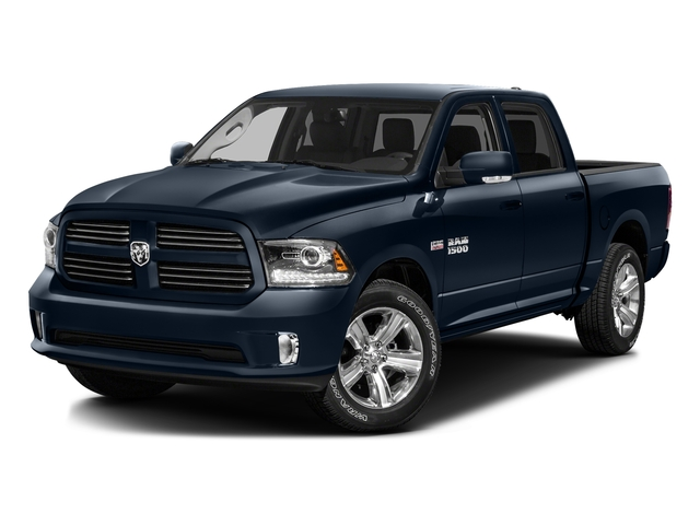 True Blue Pearlcoat 2016 Ram Truck 1500 Pictures 1500 Crew Cab Outdoorsman 4WD photos front view