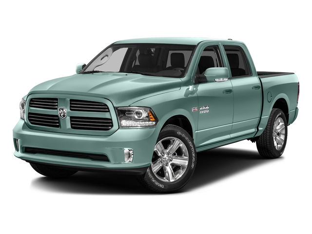 Light Green 2016 Ram Truck 1500 Pictures 1500 Crew Cab Outdoorsman 4WD photos front view