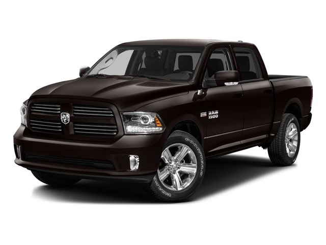 Luxury Brown Pearlcoat 2016 Ram Truck 1500 Pictures 1500 Crew Cab Express 2WD photos front view