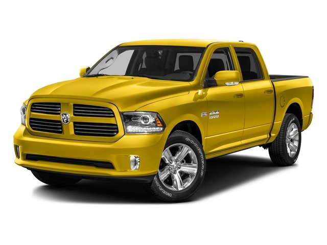 Detonator Yellow Clearcoat 2016 Ram Truck 1500 Pictures 1500 Crew Cab Outdoorsman 4WD photos front view