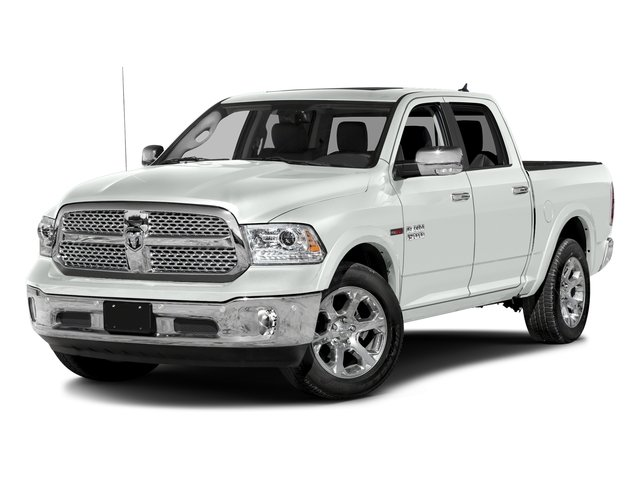 Bright White Clearcoat 2016 Ram Truck 1500 Pictures 1500 Crew Cab Laramie 2WD photos front view