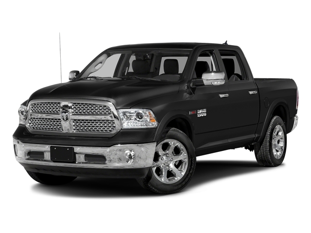 Brilliant Black Crystal Pearlcoat 2016 Ram Truck 1500 Pictures 1500 Crew Cab Laramie 2WD photos front view