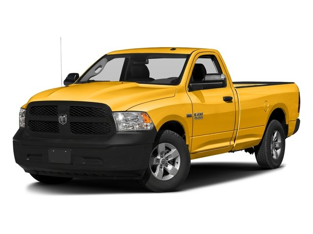 Construction Yellow 2016 Ram Truck 1500 Pictures 1500 Regular Cab Express 2WD photos front view
