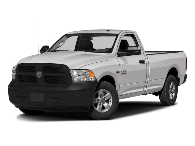 Bright Silver Metallic Clearcoat 2016 Ram Truck 1500 Pictures 1500 Regular Cab Express 2WD photos front view