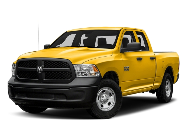 Yellow 2016 Ram Truck 1500 Pictures 1500 Quad Cab Tradesman 4WD photos front view