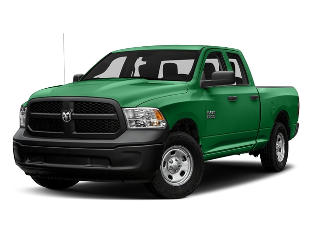 Bright Green 2016 Ram Truck 1500 Pictures 1500 Quad Cab Tradesman 2WD photos front view