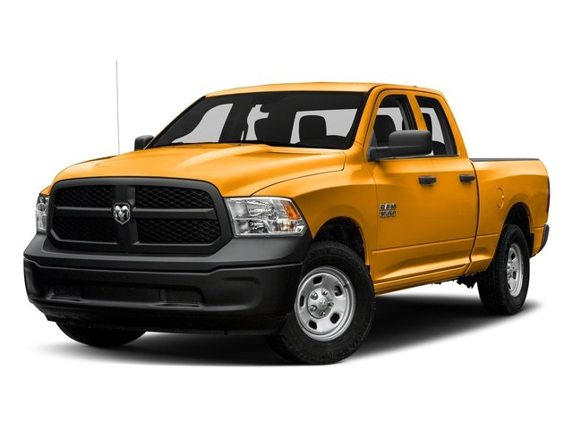 School Bus Yellow 2016 Ram Truck 1500 Pictures 1500 Quad Cab Tradesman 4WD photos front view