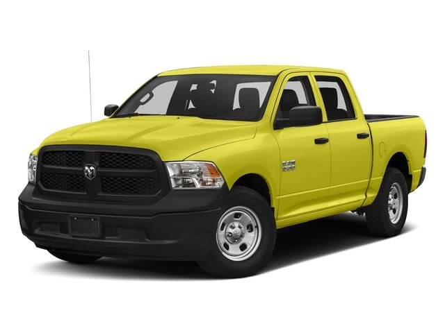 National Safety Yellow 2016 Ram Truck 1500 Pictures 1500 Crew Cab Tradesman 2WD photos front view