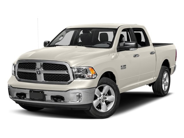 Pearl White 2016 Ram Truck 1500 Pictures 1500 Crew Cab SLT 2WD photos front view
