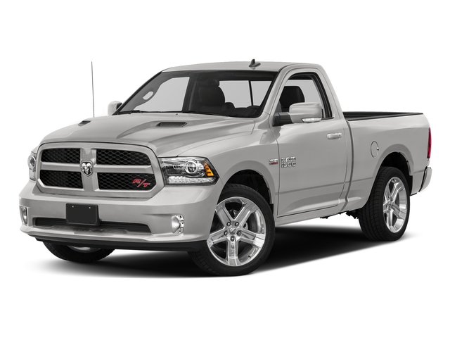 Bright Silver Metallic Clearcoat 2016 Ram Truck 1500 Pictures 1500 Regular Cab Sport 4WD photos front view