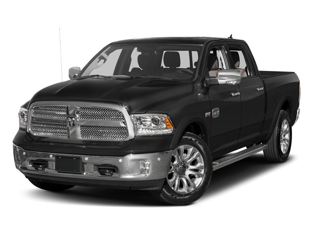 Brilliant Black Crystal Pearlcoat 2016 Ram Truck 1500 Pictures 1500 Crew Cab Limited 4WD photos front view