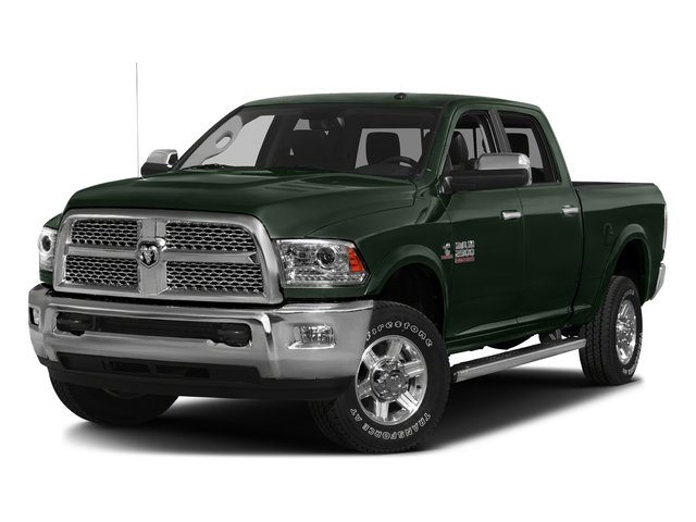 Black Forest Green Pearlcoat 2016 Ram Truck 2500 Pictures 2500 Crew Cab Laramie 2WD photos front view