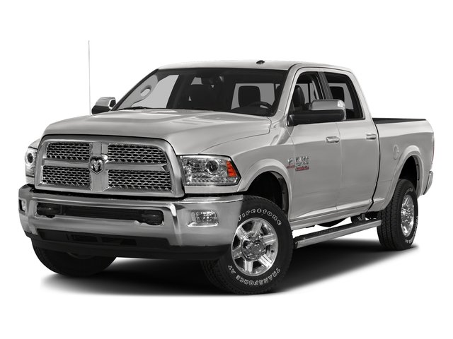 Bright Silver Metallic Clearcoat 2016 Ram Truck 2500 Pictures 2500 Crew Cab Limited 2WD photos front view
