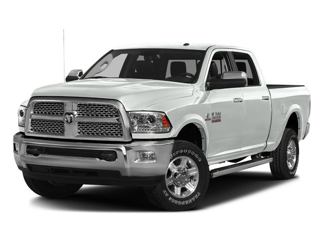 Bright White Clearcoat 2016 Ram Truck 2500 Pictures 2500 Crew Cab Laramie 2WD photos front view