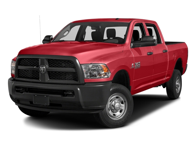 Bright Red 2016 Ram Truck 2500 Pictures 2500 Crew Cab Tradesman 4WD photos front view