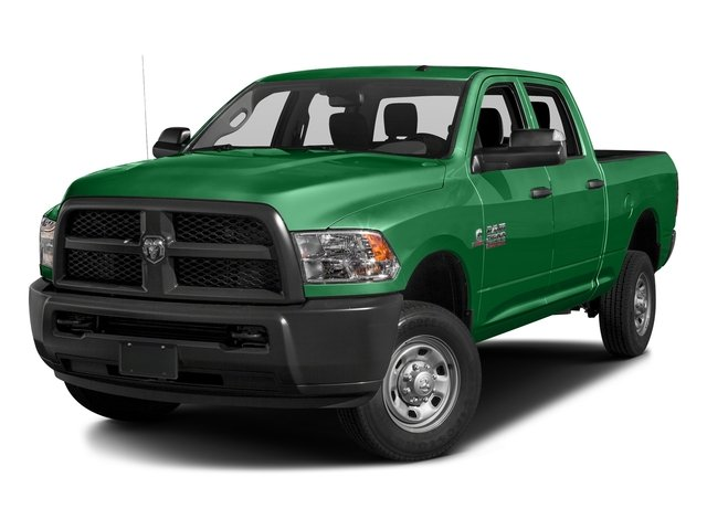Bright Green 2016 Ram Truck 2500 Pictures 2500 Crew Cab Tradesman 4WD photos front view