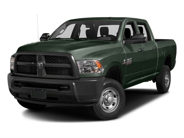 Black Forest Green Pearlcoat 2016 Ram Truck 2500 Pictures 2500 Crew Cab Tradesman 4WD photos front view