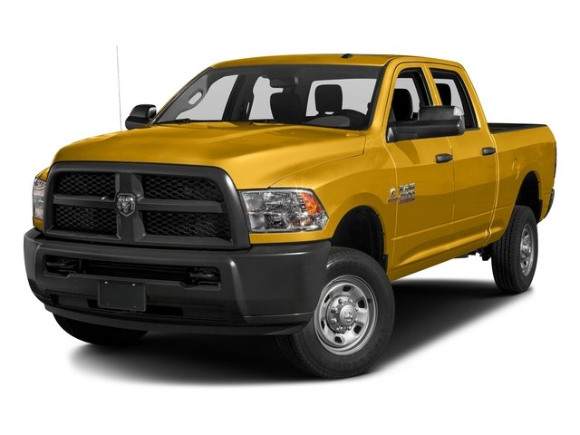 School Bus Yellow 2016 Ram Truck 2500 Pictures 2500 Crew Cab Tradesman 4WD photos front view