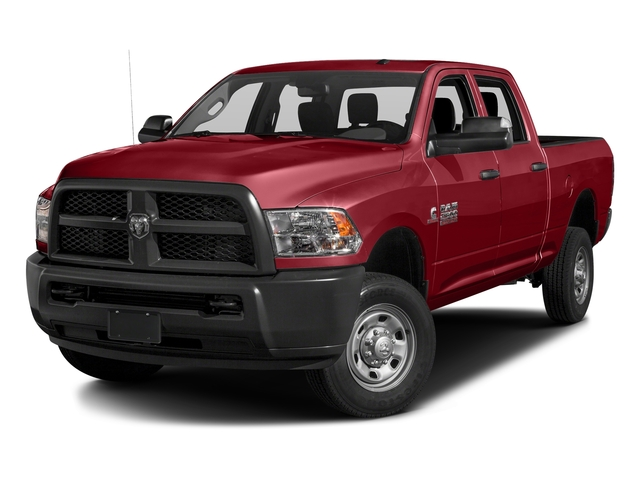 Flame Red Clearcoat 2016 Ram Truck 2500 Pictures 2500 Crew Cab Tradesman 4WD photos front view