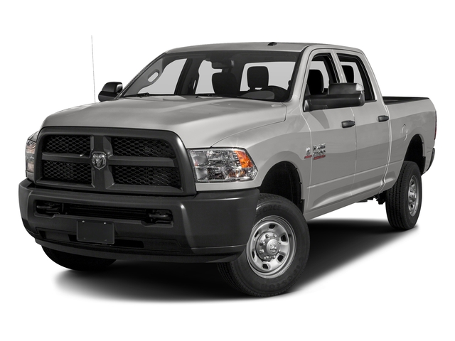Bright Silver Metallic Clearcoat 2016 Ram Truck 2500 Pictures 2500 Crew Cab Tradesman 4WD photos front view