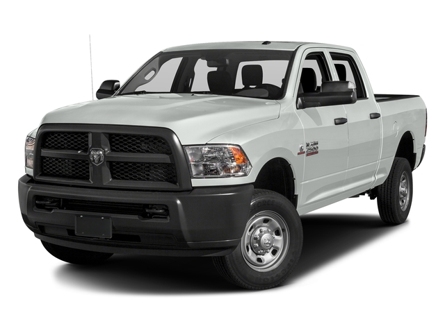 Bright White Clearcoat 2016 Ram Truck 2500 Pictures 2500 Crew Cab Tradesman 4WD photos front view