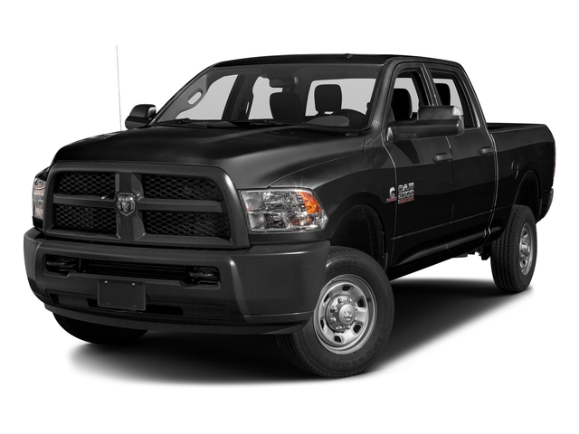 Brilliant Black Crystal Pearlcoat 2016 Ram Truck 2500 Pictures 2500 Crew Cab Tradesman 4WD photos front view