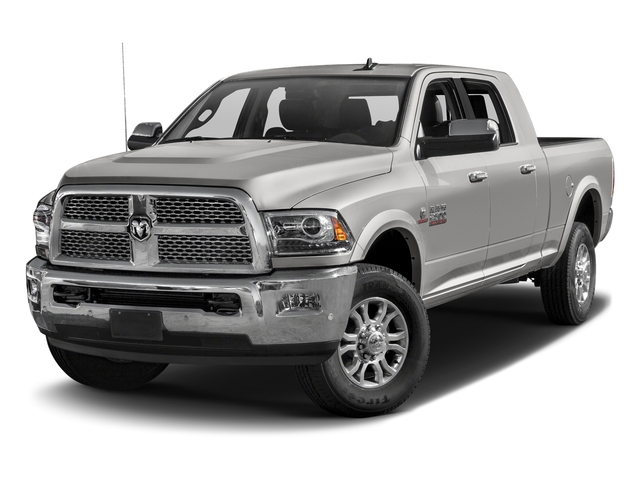 Bright Silver Metallic Clearcoat 2016 Ram Truck 2500 Pictures 2500 Mega Cab Laramie 4WD photos front view