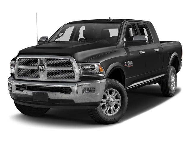 Brilliant Black Crystal Pearlcoat 2016 Ram Truck 2500 Pictures 2500 Mega Cab Laramie 4WD photos front view