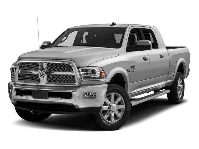 Bright Silver Metallic Clearcoat 2016 Ram Truck 2500 Pictures 2500 Mega Cab Longhorn 4WD photos front view