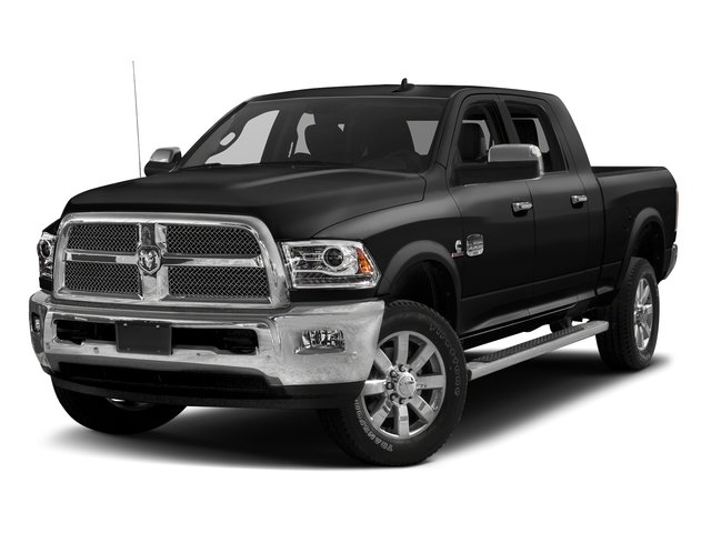 Brilliant Black Crystal Pearlcoat 2016 Ram Truck 2500 Pictures 2500 Mega Cab Limited 2WD photos front view