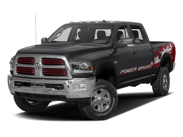Granite Crystal Metallic Clearcoat 2016 Ram Truck 2500 Pictures 2500 Crew Power Wagon SLT 4WD photos front view