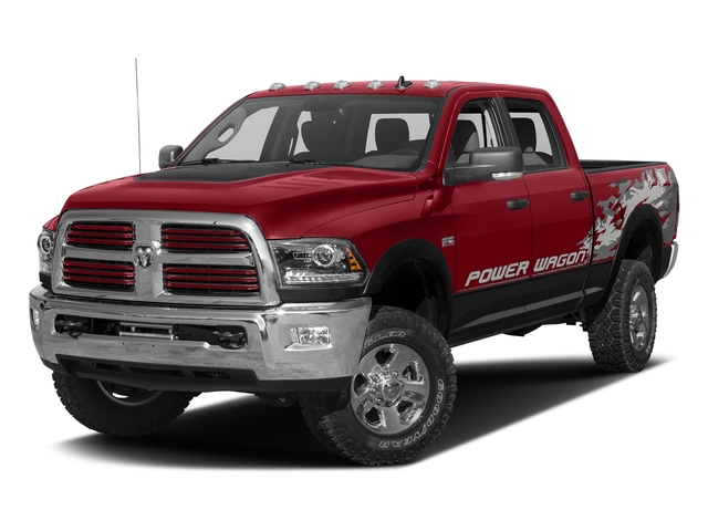 Flame Red Clearcoat 2016 Ram Truck 2500 Pictures 2500 Crew Power Wagon SLT 4WD photos front view