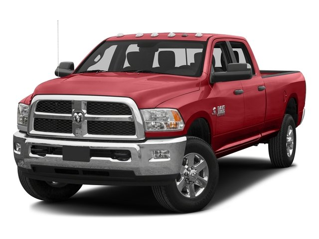 Bright Red 2016 Ram Truck 3500 Pictures 3500 Crew Cab SLT 2WD photos front view