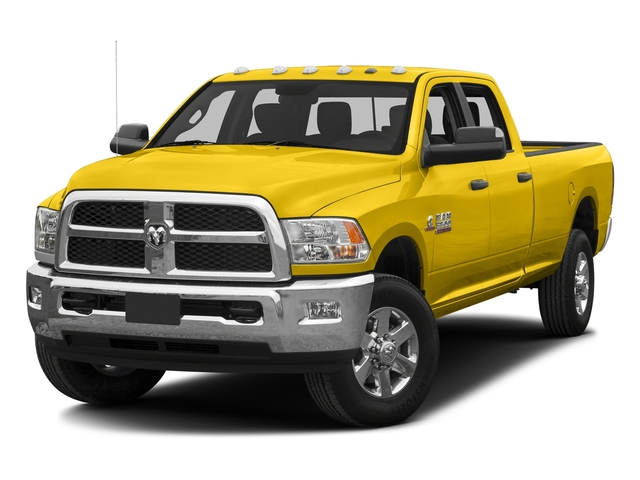 Yellow 2016 Ram Truck 3500 Pictures 3500 Crew Cab SLT 2WD photos front view