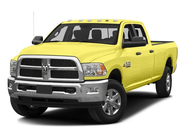 Bright Green 2016 Ram Truck 3500 Pictures 3500 Crew Cab SLT 4WD photos front view