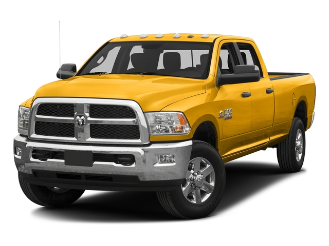 Construction Yellow 2016 Ram Truck 3500 Pictures 3500 Crew Cab SLT 4WD photos front view