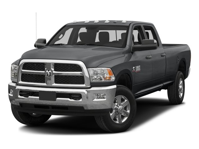 Granite Crystal Metallic Clearcoat 2016 Ram Truck 3500 Pictures 3500 Crew Cab SLT 4WD photos front view