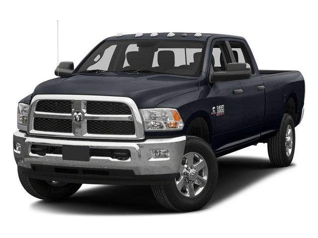 Midnight Blue Pearlcoat 2016 Ram Truck 3500 Pictures 3500 Crew Cab SLT 2WD photos front view