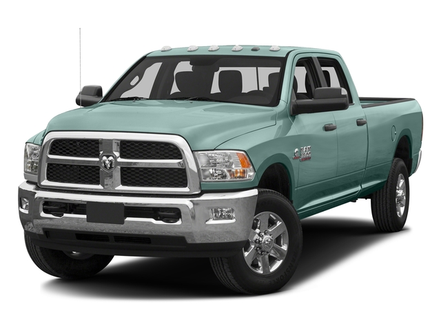 Light Green 2016 Ram Truck 3500 Pictures 3500 Crew Cab SLT 4WD photos front view