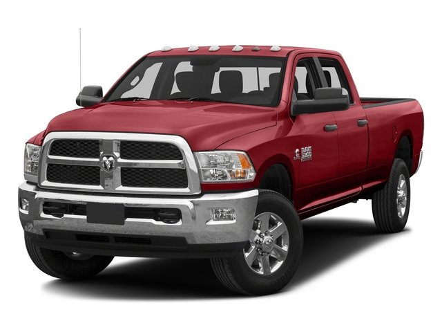 Flame Red Clearcoat 2016 Ram Truck 3500 Pictures 3500 Crew Cab SLT 4WD photos front view