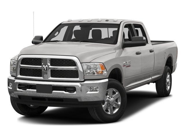 Bright Silver Metallic Clearcoat 2016 Ram Truck 3500 Pictures 3500 Crew Cab SLT 4WD photos front view