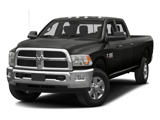 Black Clearcoat 2016 Ram Truck 3500 Pictures 3500 Crew Cab SLT 4WD photos front view