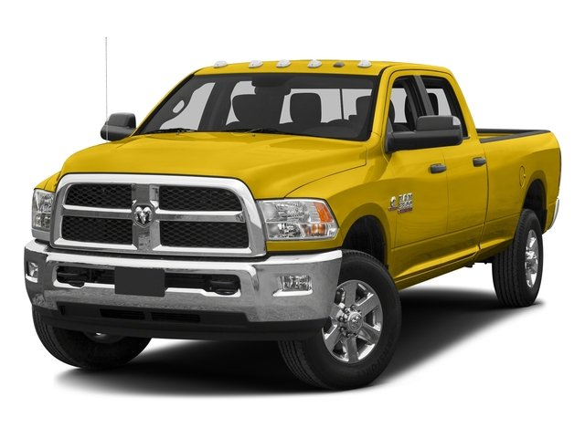 Detonator Yellow Clearcoat 2016 Ram Truck 3500 Pictures 3500 Crew Cab SLT 2WD photos front view