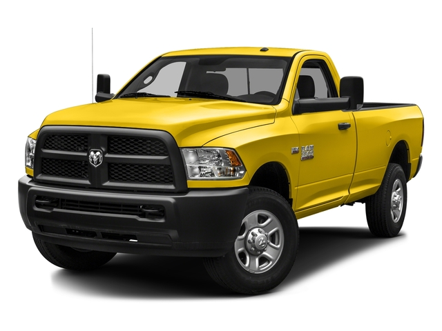 Yellow 2016 Ram Truck 3500 Pictures 3500 Regular Cab SLT 2WD photos front view