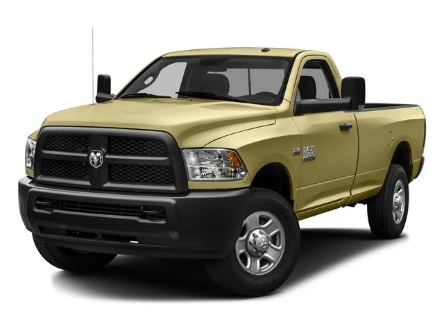 Light Cream 2016 Ram Truck 3500 Pictures 3500 Regular Cab SLT 2WD photos front view